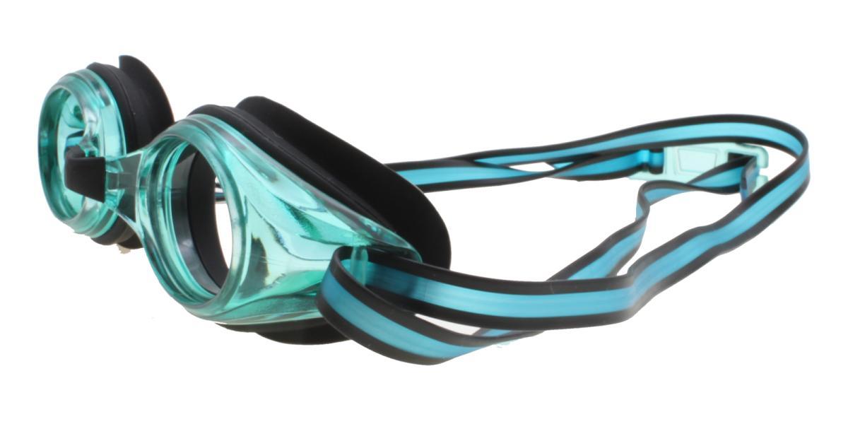 Prescription Goggles 181212002-Green-Oval-Plastic-SportsGlasses-detail