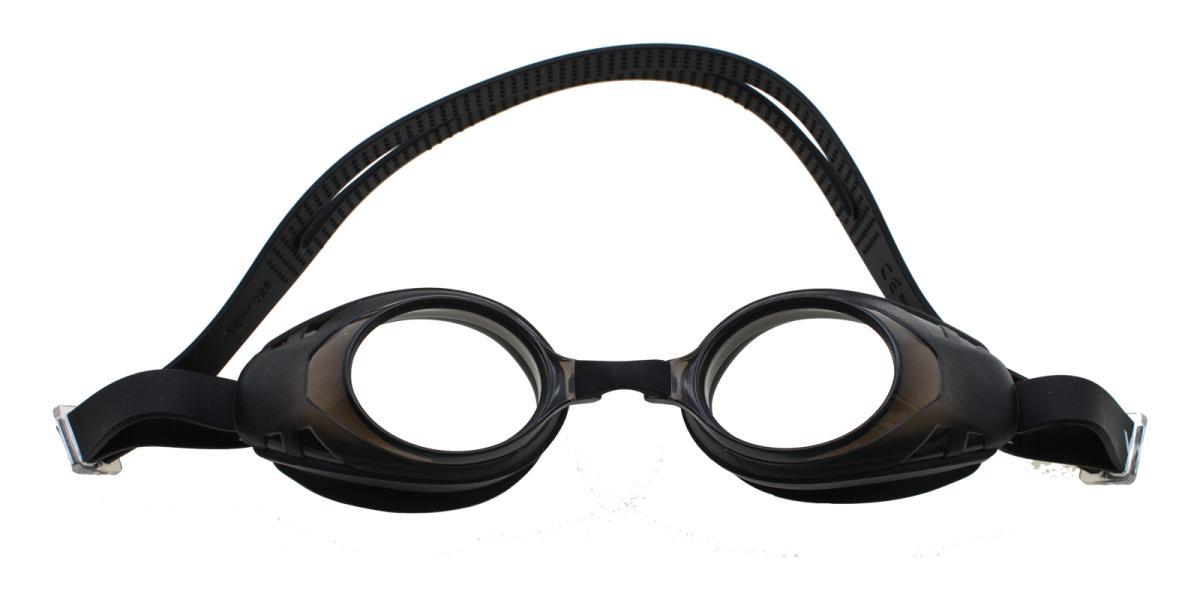 Prescription Goggles 181212003-Black-Oval-Plastic-SportsGlasses-detail