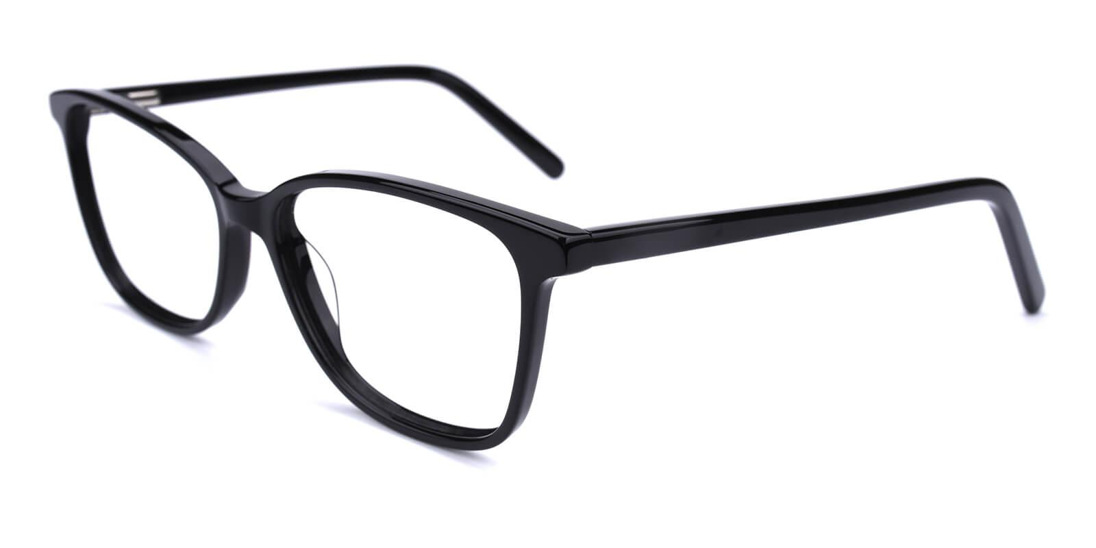 Believe-Black-Square / Cat-Acetate-Eyeglasses-additional1