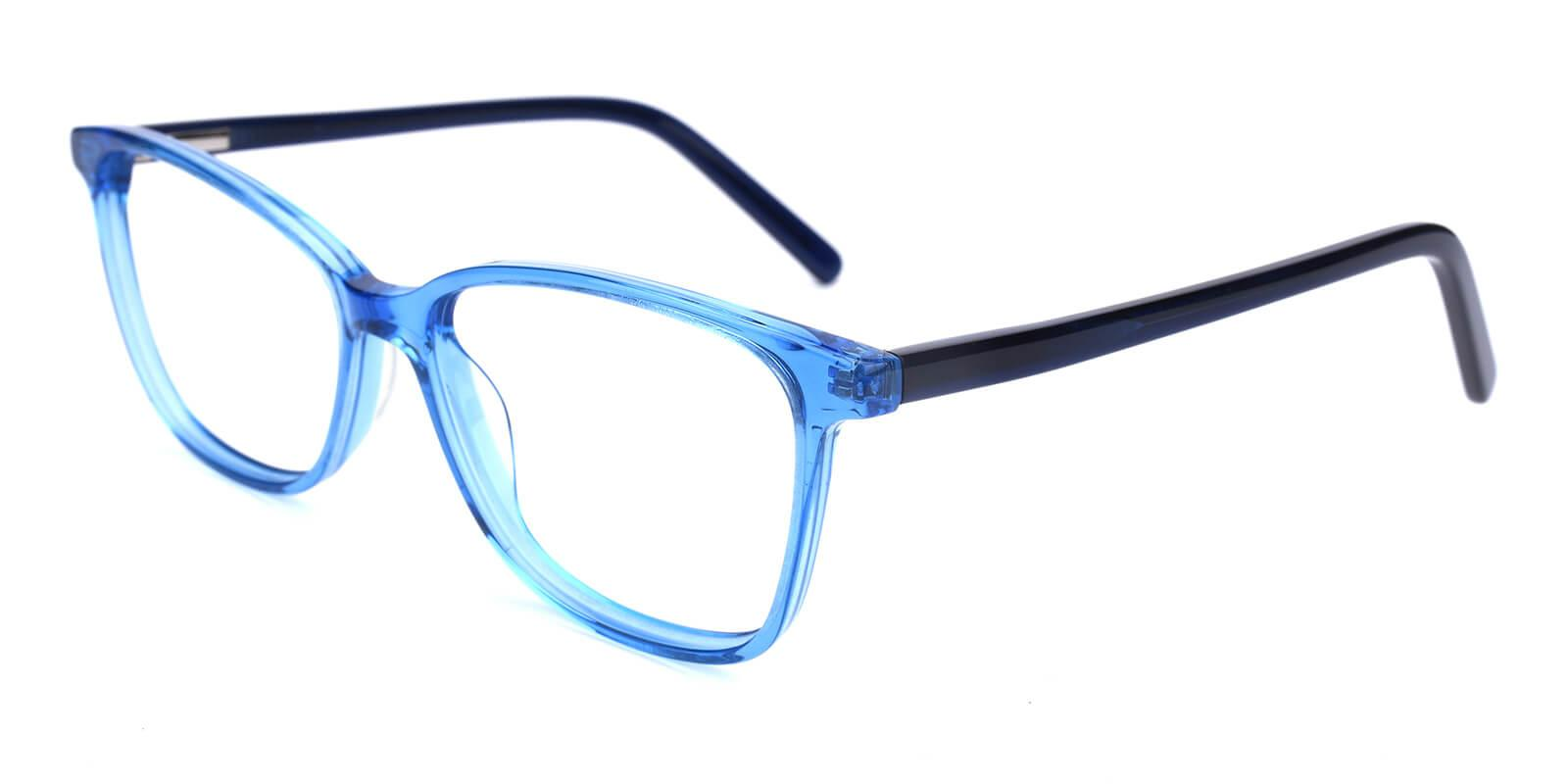 Believe-Blue-Square / Cat-Acetate-Eyeglasses-additional1