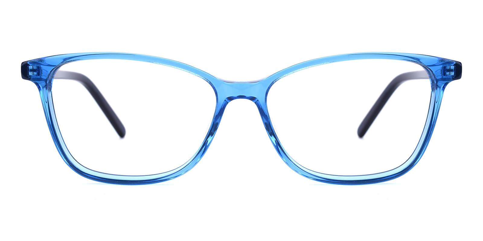 Believe-Blue-Square / Cat-Acetate-Eyeglasses-additional2