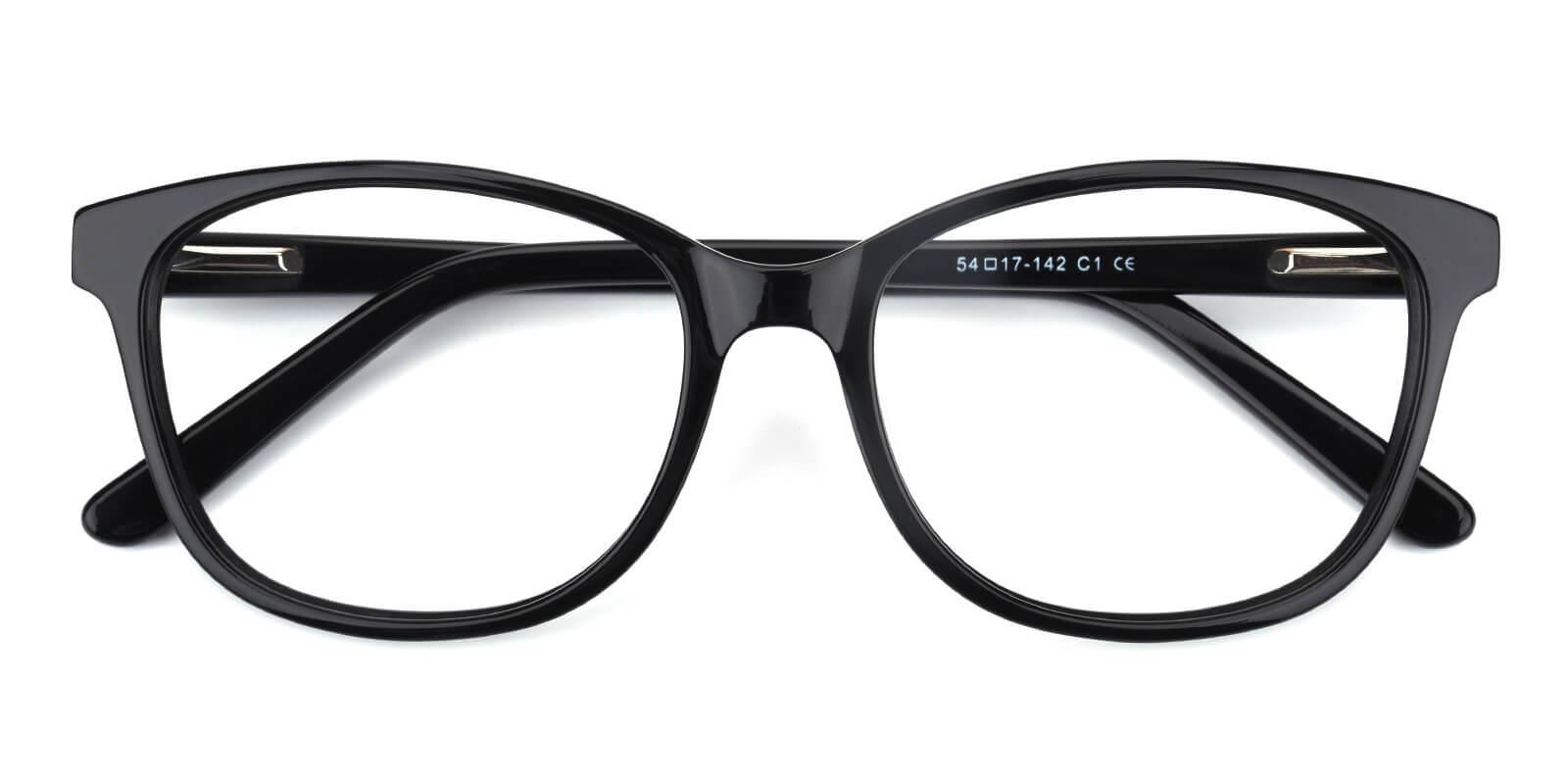 Bolivia-Black-Cat-Acetate-Eyeglasses-detail
