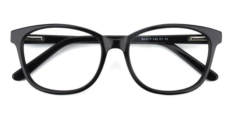 Bolivia-Black-Eyeglasses