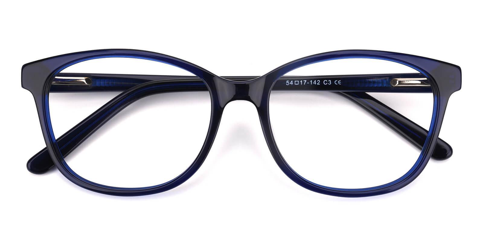 Bolivia-Blue-Cat-Acetate-Eyeglasses-detail