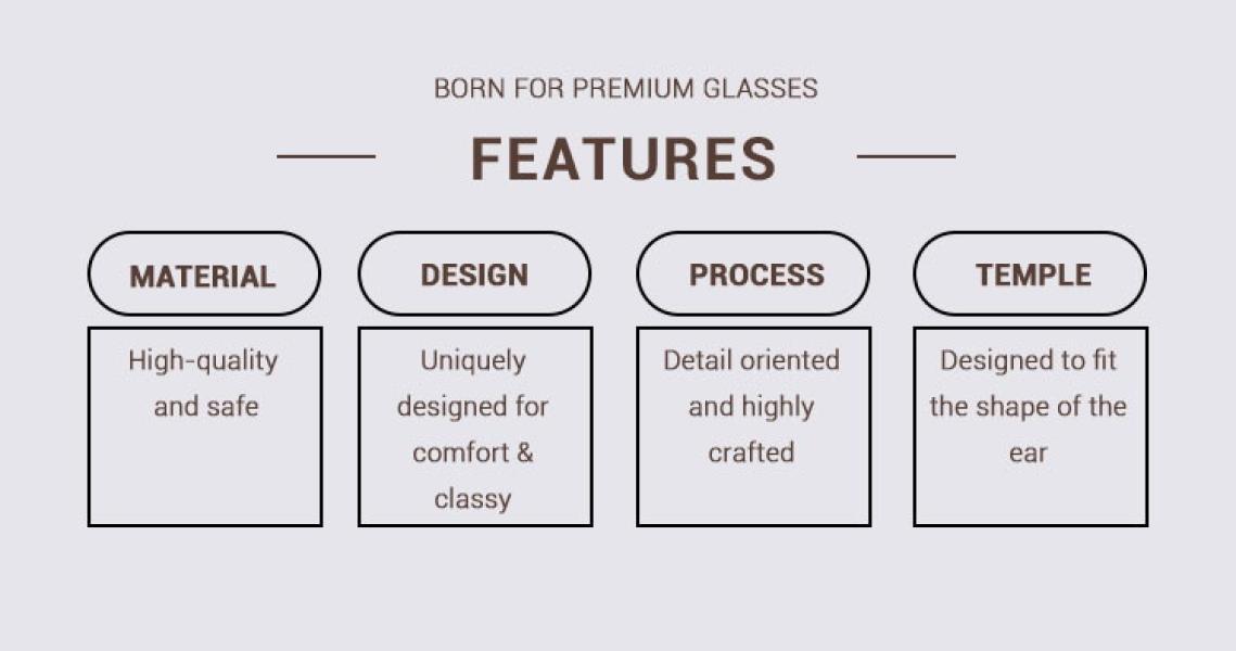 Grain-Brown-Acetate / Metal-Eyeglasses-detail1