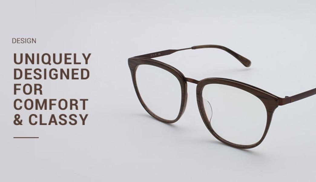 Grain-Brown-Acetate / Metal-Eyeglasses-detail3