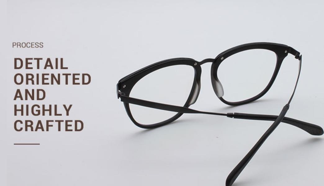 Grain-Brown-Acetate / Metal-Eyeglasses-detail4