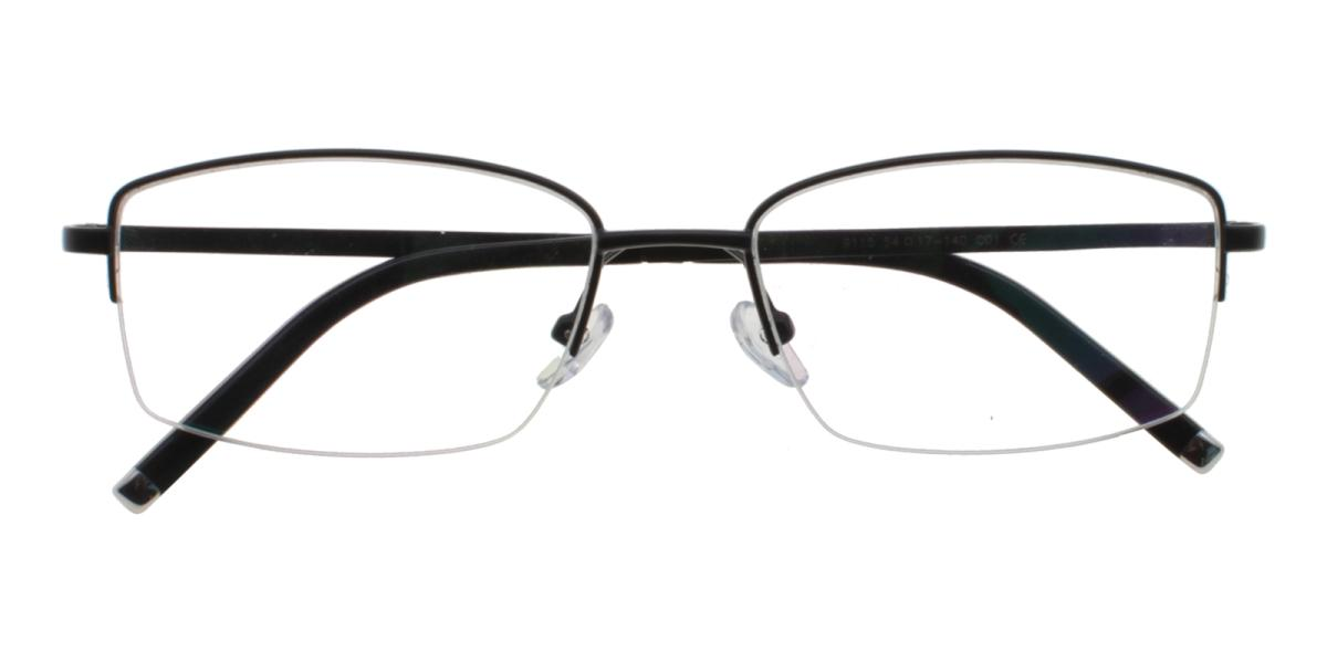 Grapheen-Black-Rectangle-Titanium-Eyeglasses-detail