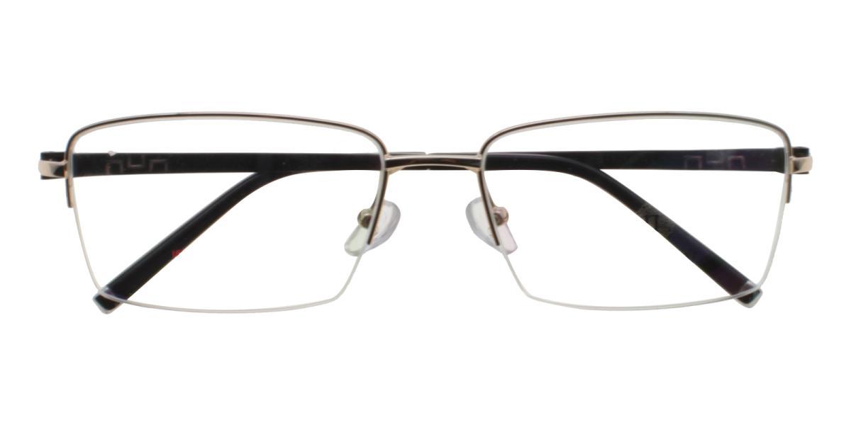 Grapheen-Gold-Rectangle-Titanium-Eyeglasses-detail