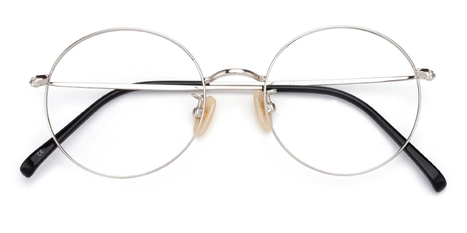 Theenity-Silver-Round-Titanium-Eyeglasses-detail