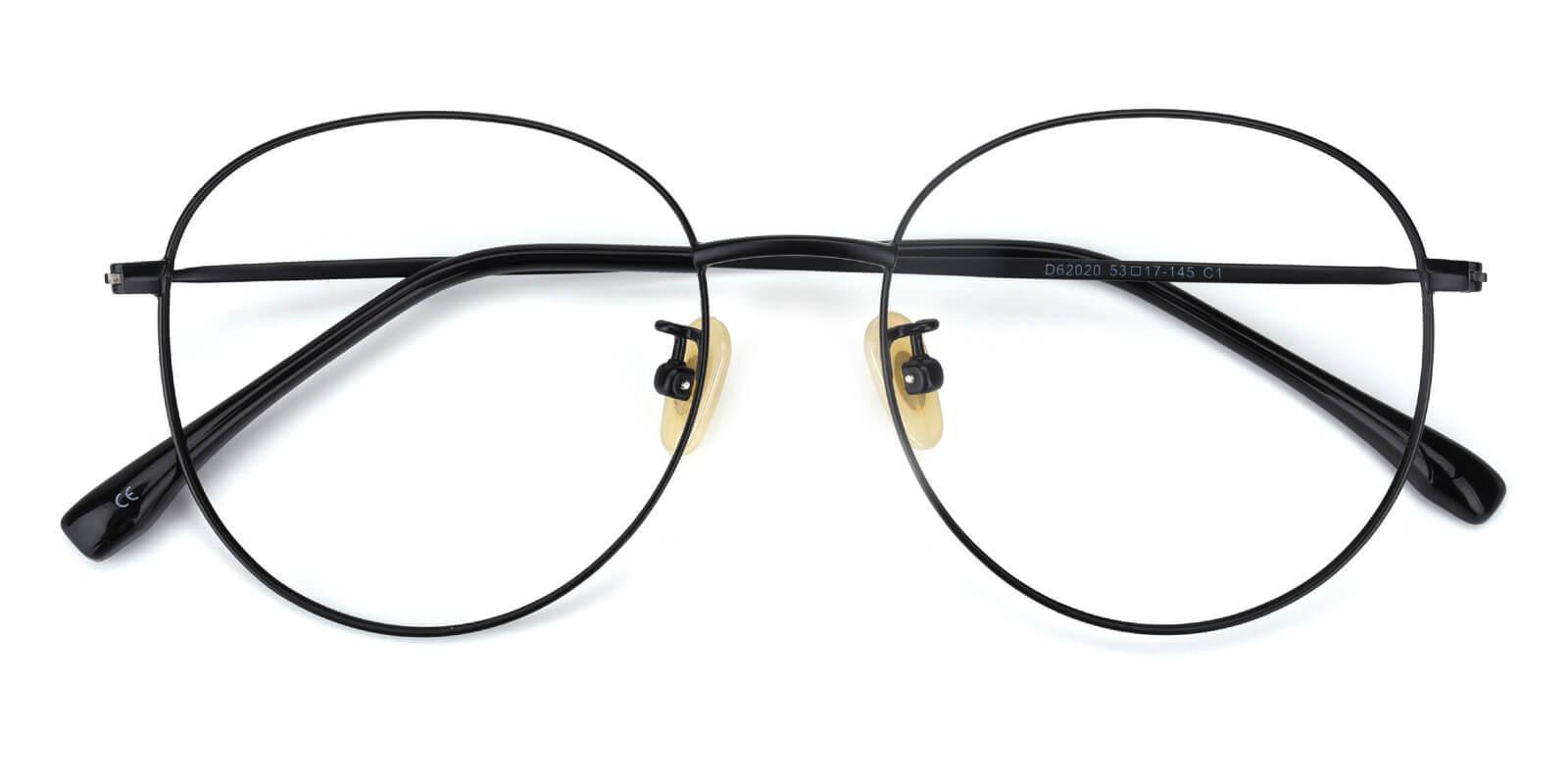 Mondigo-Black-Round-Titanium-Eyeglasses-detail