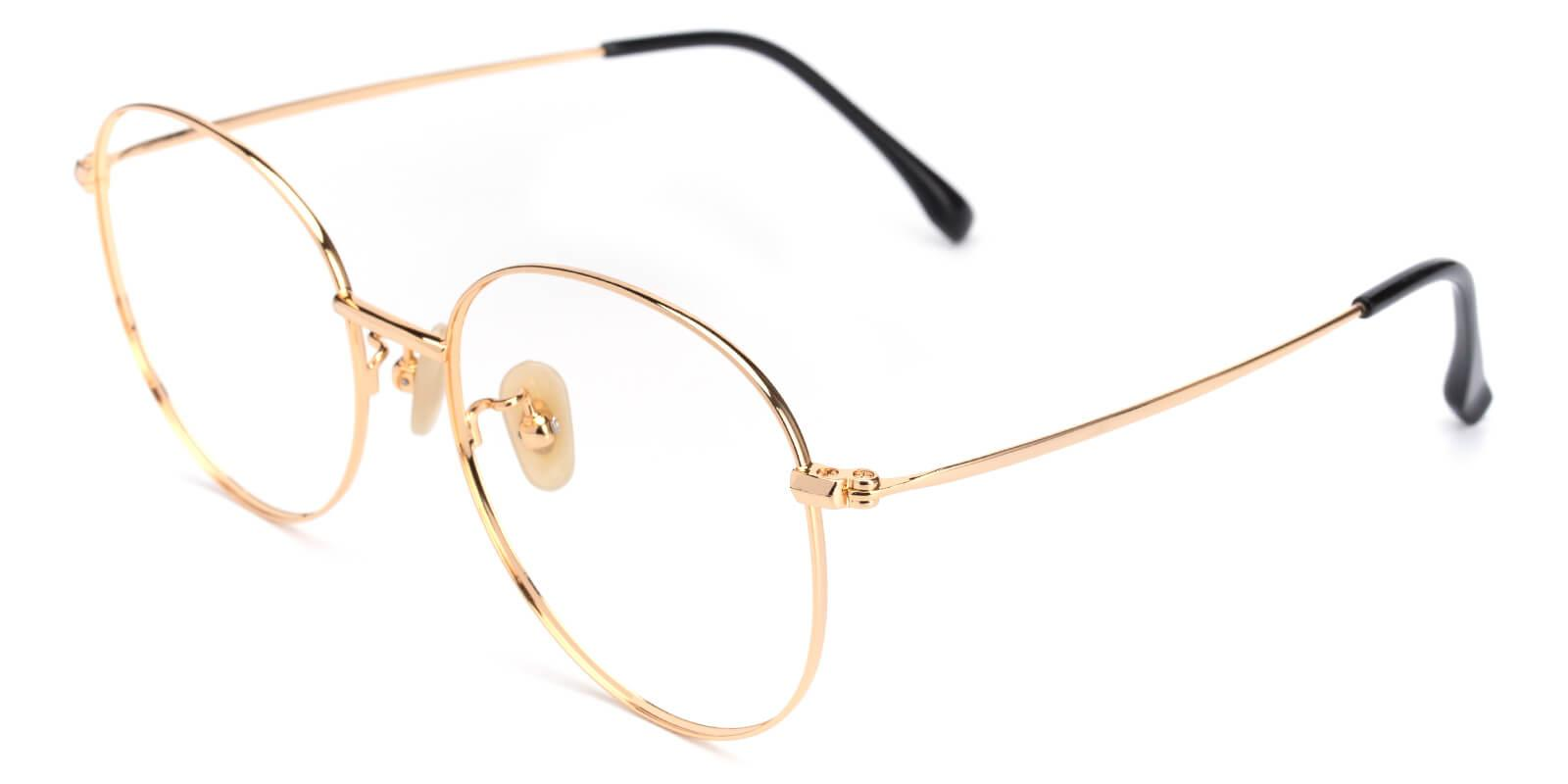 Mondigo-Gold-Round-Titanium-Eyeglasses-additional1
