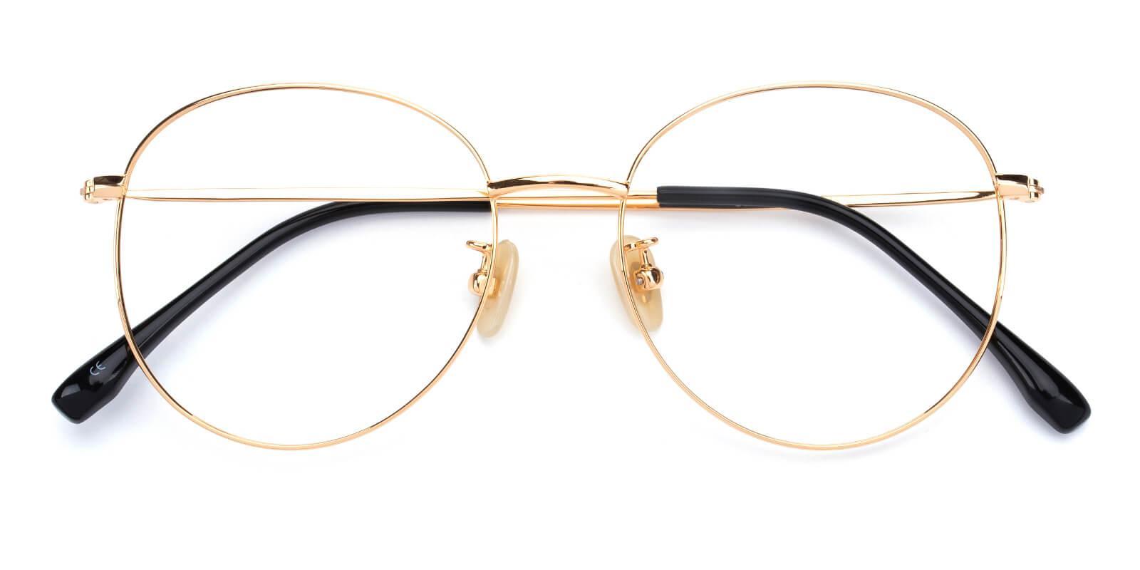 Mondigo-Gold-Round-Titanium-Eyeglasses-detail