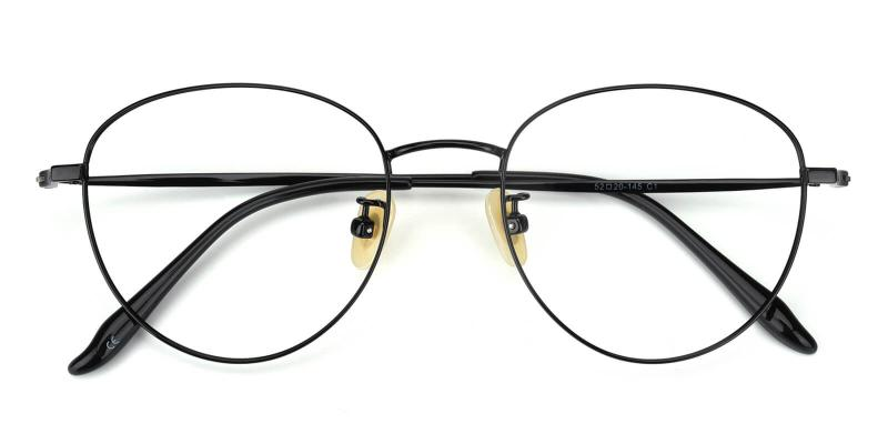 Litteray-Black-Eyeglasses