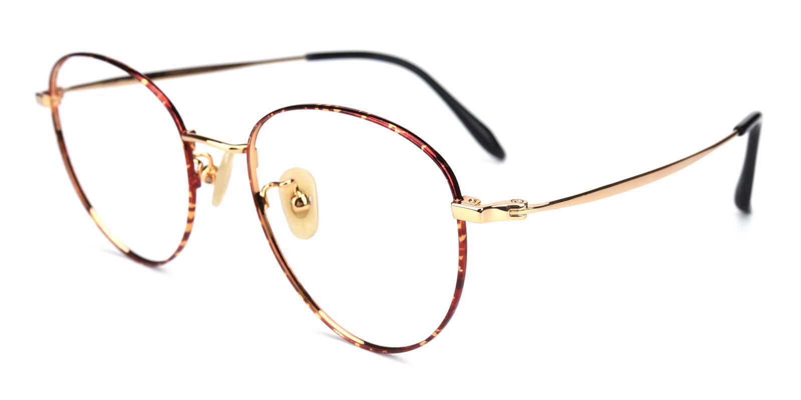 Litteray-Pattern-Round-Titanium-Eyeglasses-additional1