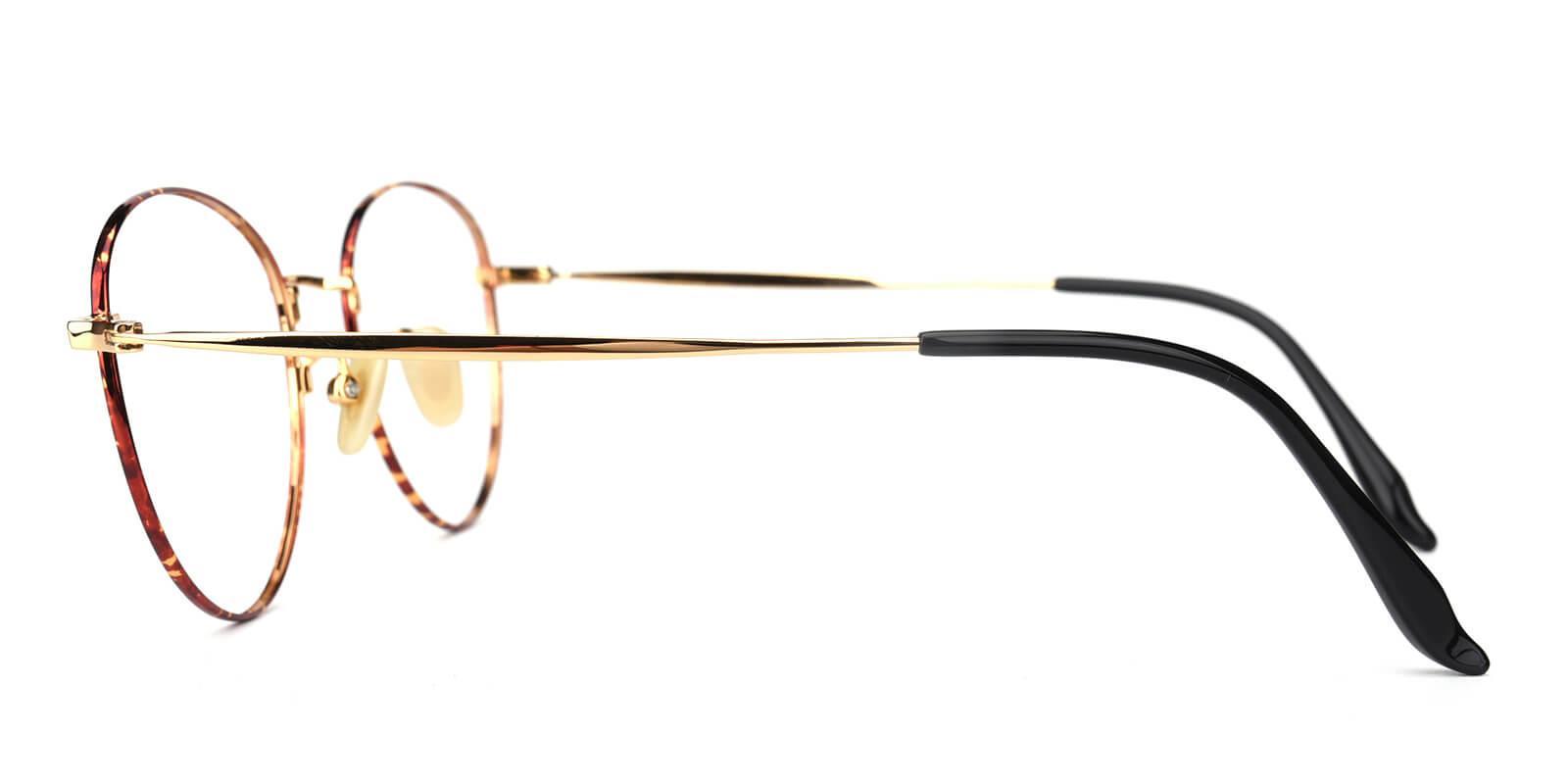 Litteray-Pattern-Round-Titanium-Eyeglasses-additional3