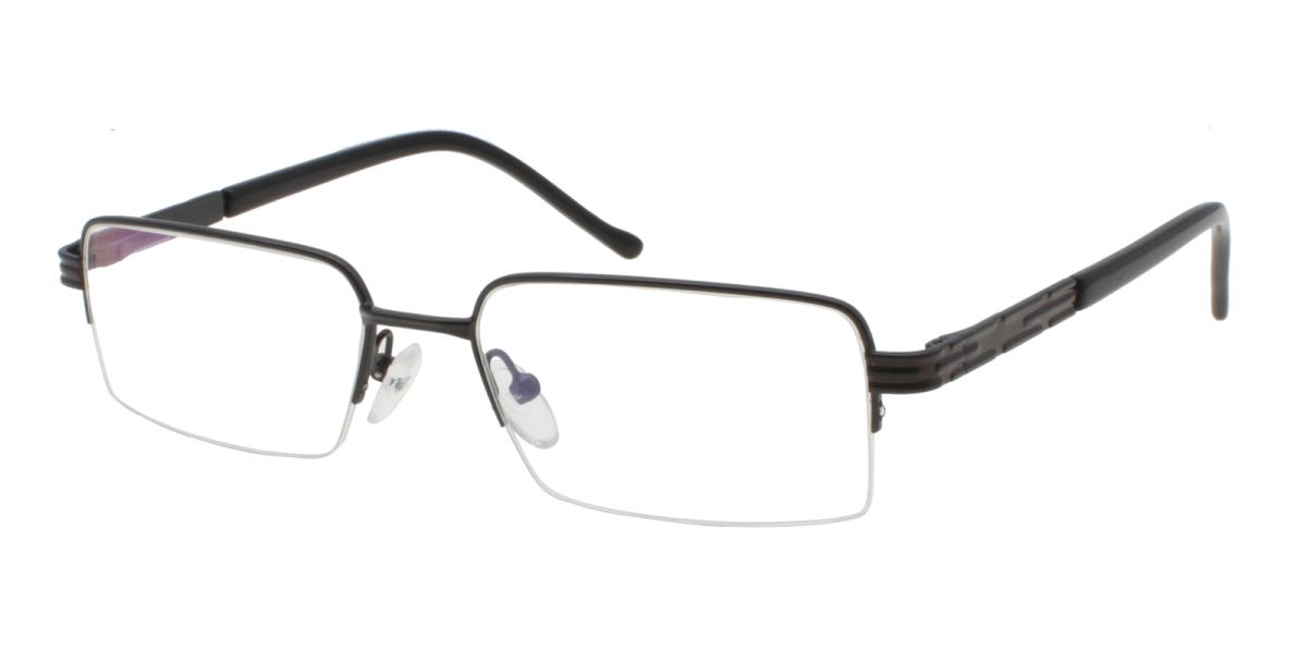 Nicaragua-Black-Rectangle-Metal-Eyeglasses-additional1