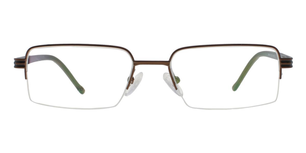 Nicaragua-Brown-Rectangle-Metal-Eyeglasses-additional2