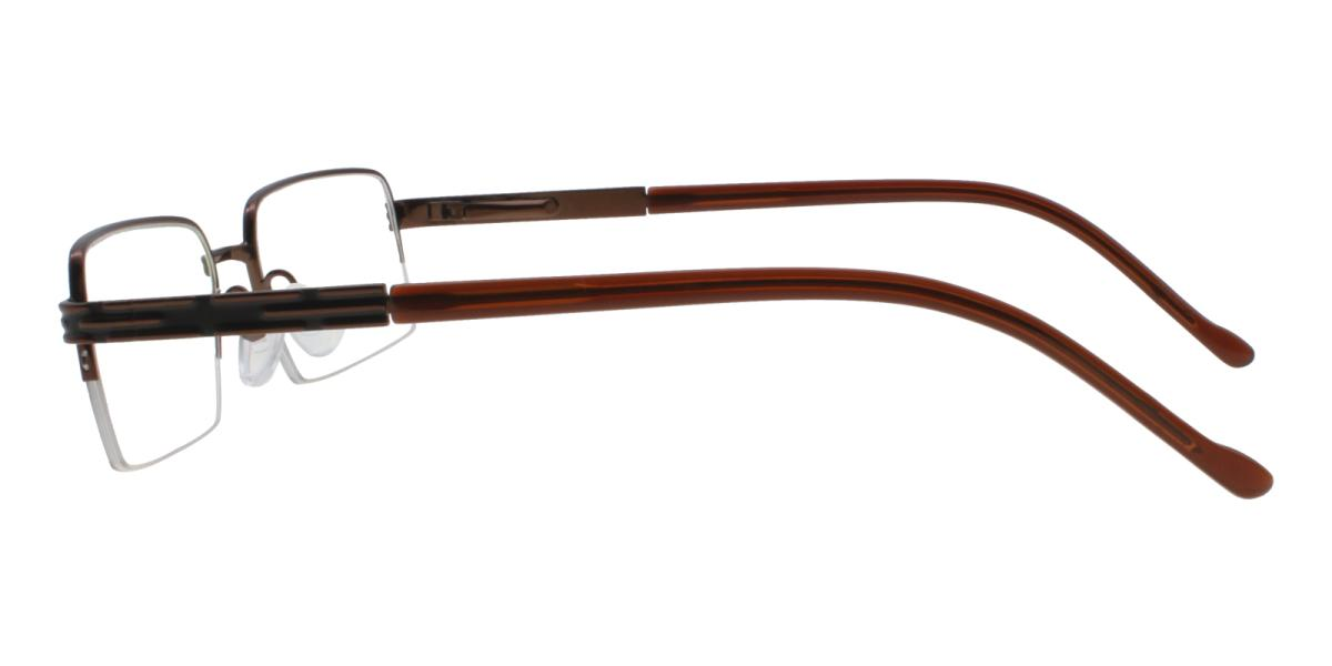 Nicaragua-Brown-Rectangle-Metal-Eyeglasses-additional3