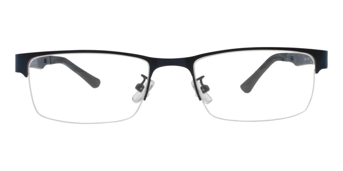 Norbter-Blue-Rectangle-Metal / TR-Eyeglasses-additional2