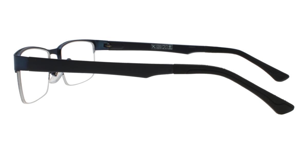 Norbter-Blue-Rectangle-Metal / TR-Eyeglasses-additional3