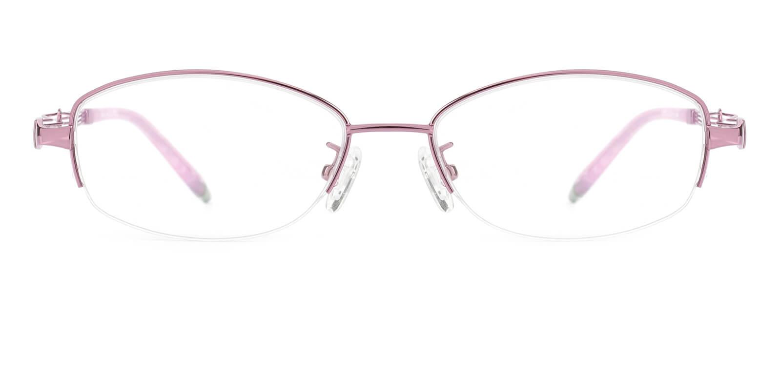 Grid-Pink-Oval-Metal-Eyeglasses-additional2