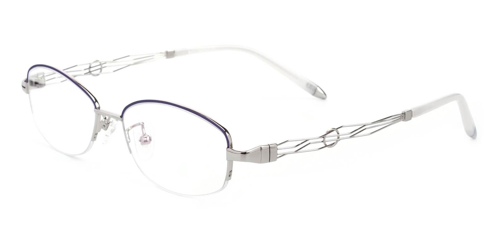 Grid-Silver-Oval-Metal-Eyeglasses-additional1