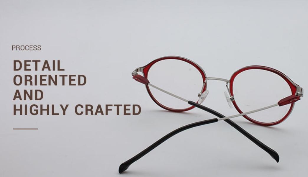 Portrait-Black-Metal / TR-Eyeglasses-detail4