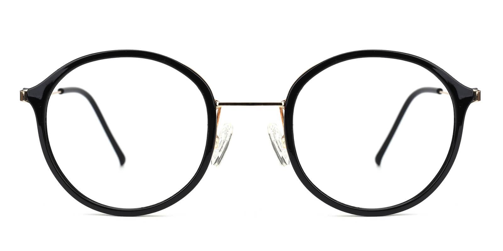 Portrait-Black-Round-Metal / TR-Eyeglasses-additional2