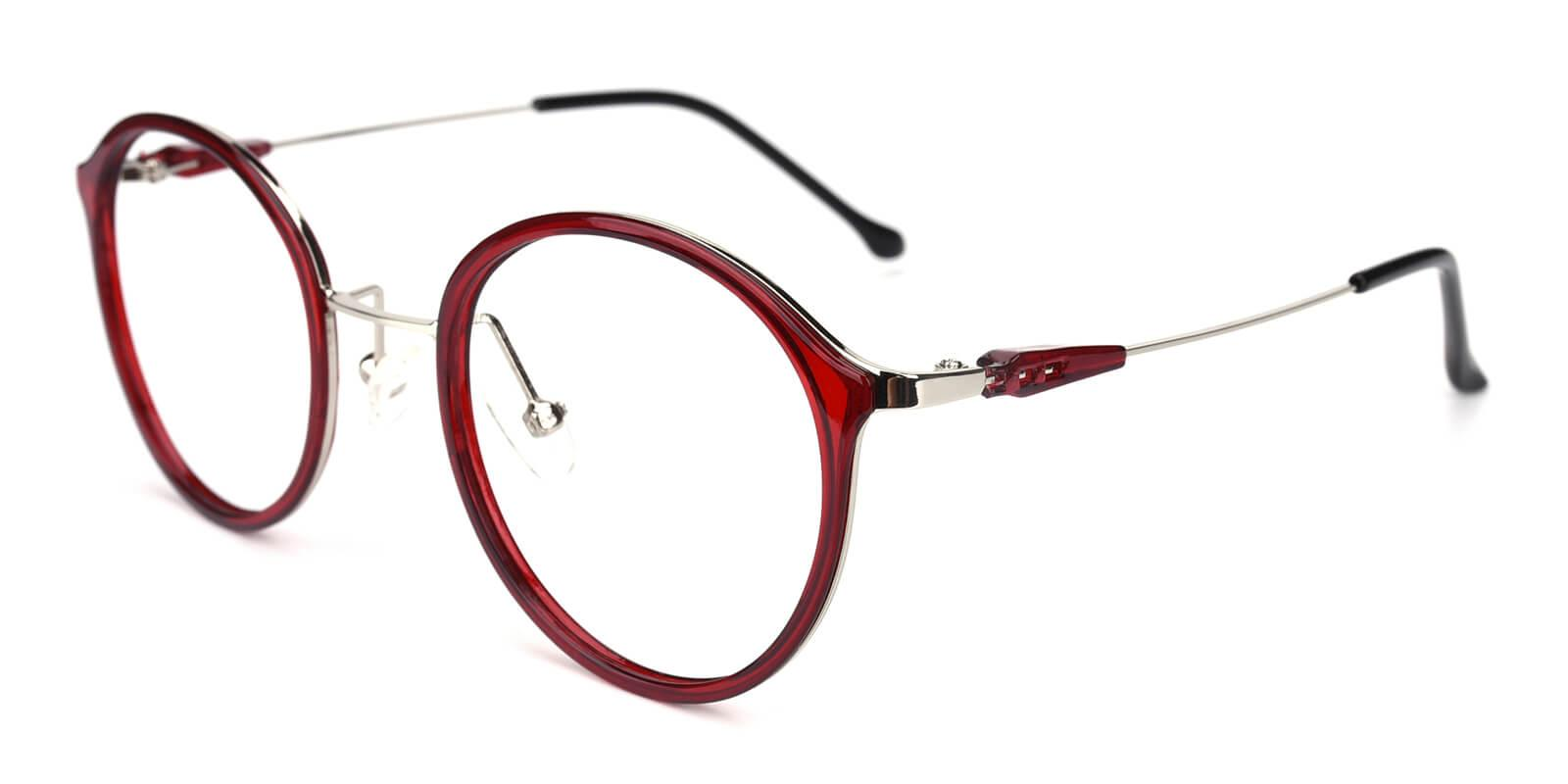 Portrait-Red-Round-Metal / TR-Eyeglasses-additional1