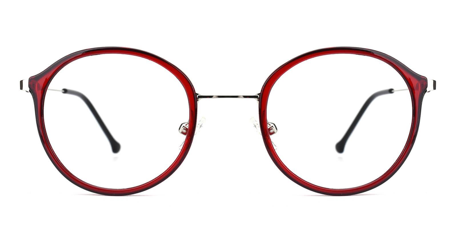Portrait-Red-Round-Metal / TR-Eyeglasses-additional2