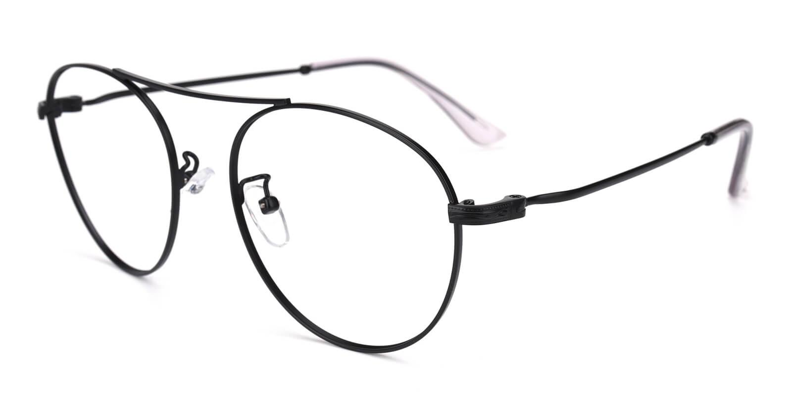 Fleybean-Black-Aviator-Metal-Eyeglasses-additional1