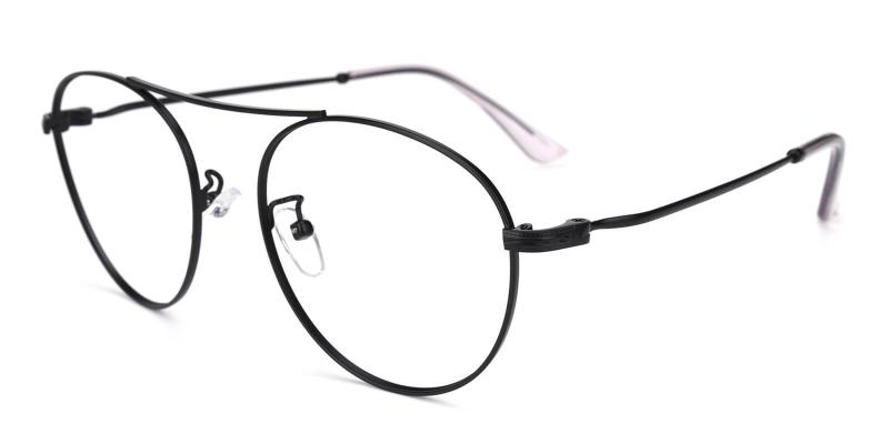 Fleybean-Black-Eyeglasses / NosePads