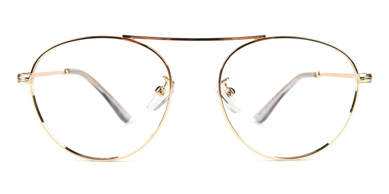 Fleybean-Gold-Aviator-Metal-Eyeglasses-additional2