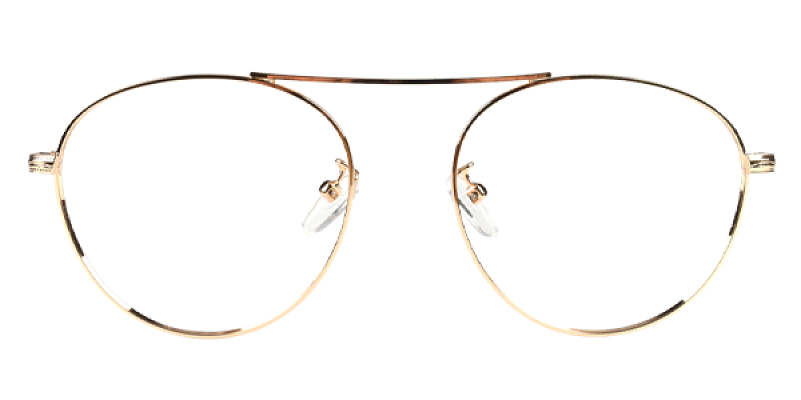 Fleybean-Gold-Aviator-Metal-Eyeglasses-additional4