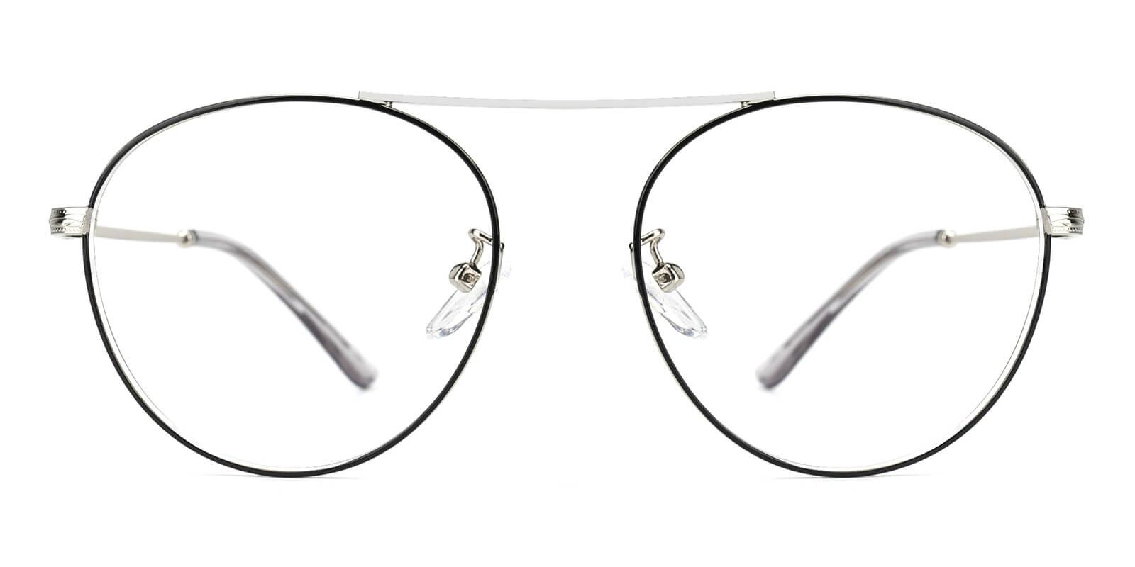 Fleybean-Silver-Aviator-Metal-Eyeglasses-detail