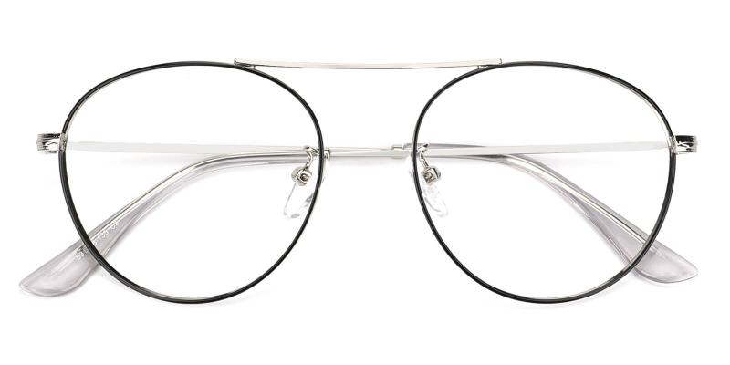 Fleybean-Silver-Eyeglasses