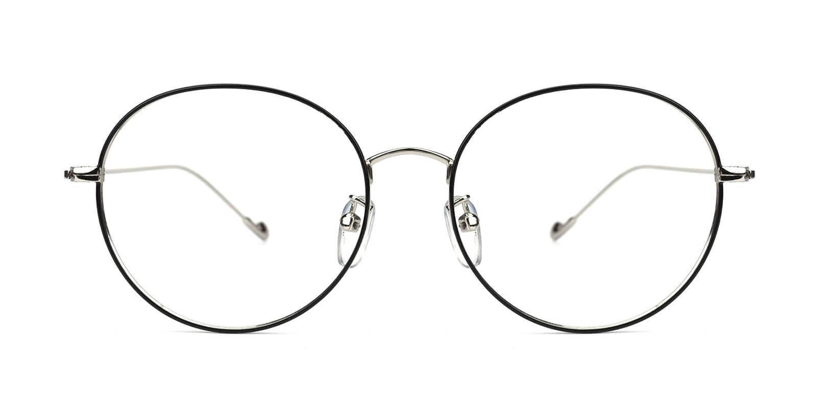 Jessy-Black-Round-Metal-Eyeglasses-additional2