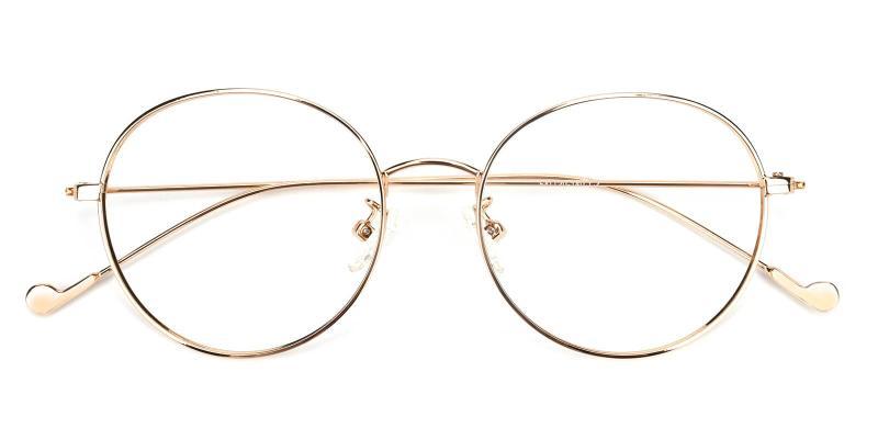 Jessy-Gold-Eyeglasses