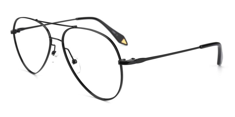 Pilot-Black-Eyeglasses