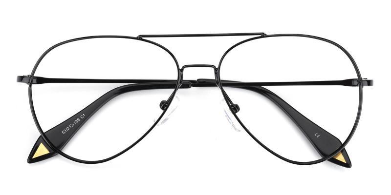 Pilot-Black-Eyeglasses