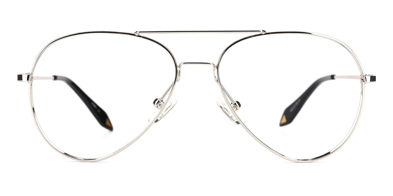 Pilot-Silver-Aviator-Metal-Eyeglasses-additional2