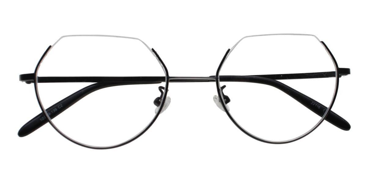 Hudson-Silver-Geometric-Metal-Eyeglasses-detail