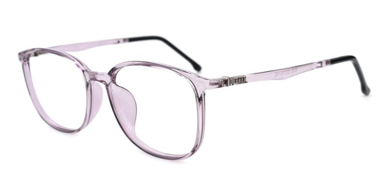 Timing-Purple-Eyeglasses / Lightweight / UniversalBridgeFit