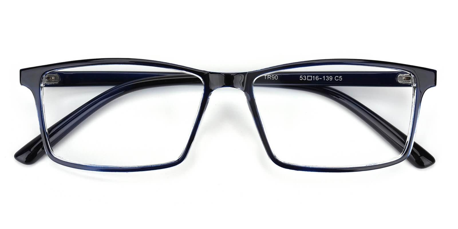Eliana-Blue-Rectangle-TR-Eyeglasses-detail
