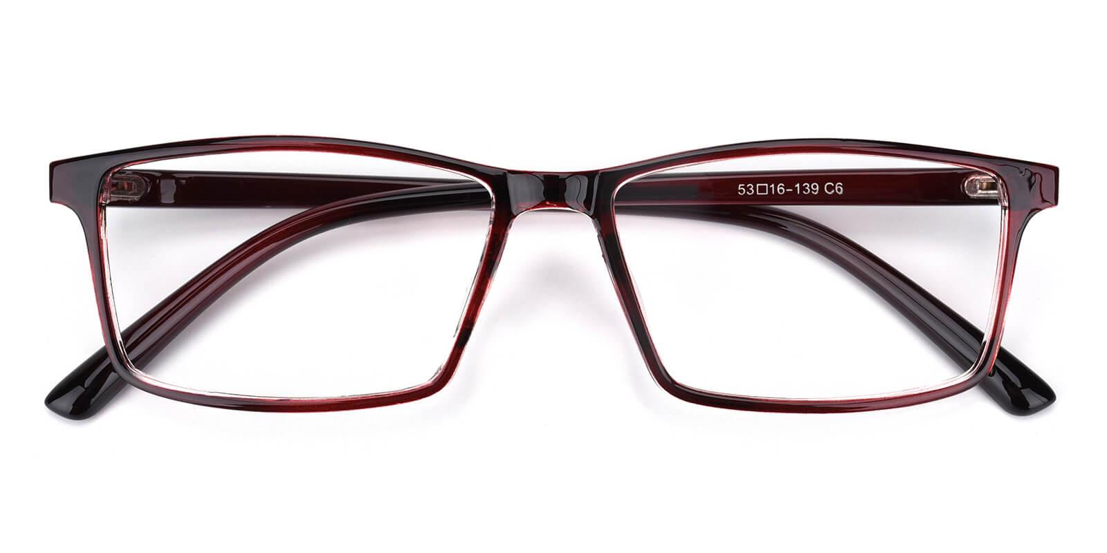Eliana-Red-Rectangle-TR-Eyeglasses-detail