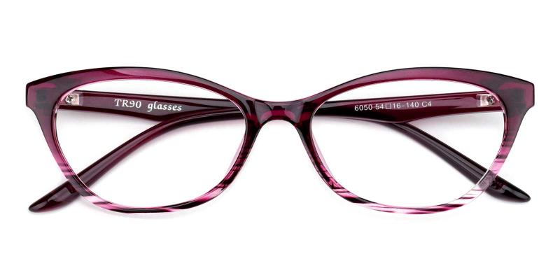 Elle-Purple-Eyeglasses