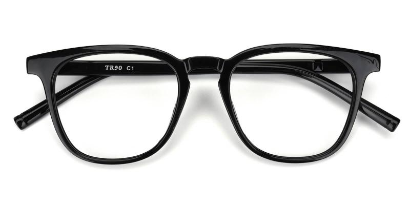 Heartbeat-Black-Eyeglasses