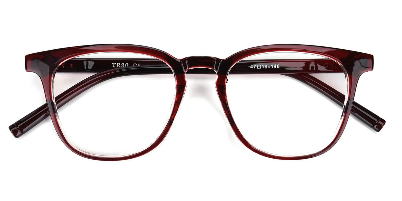 Heartbeat-Red-Square-TR-Eyeglasses-detail