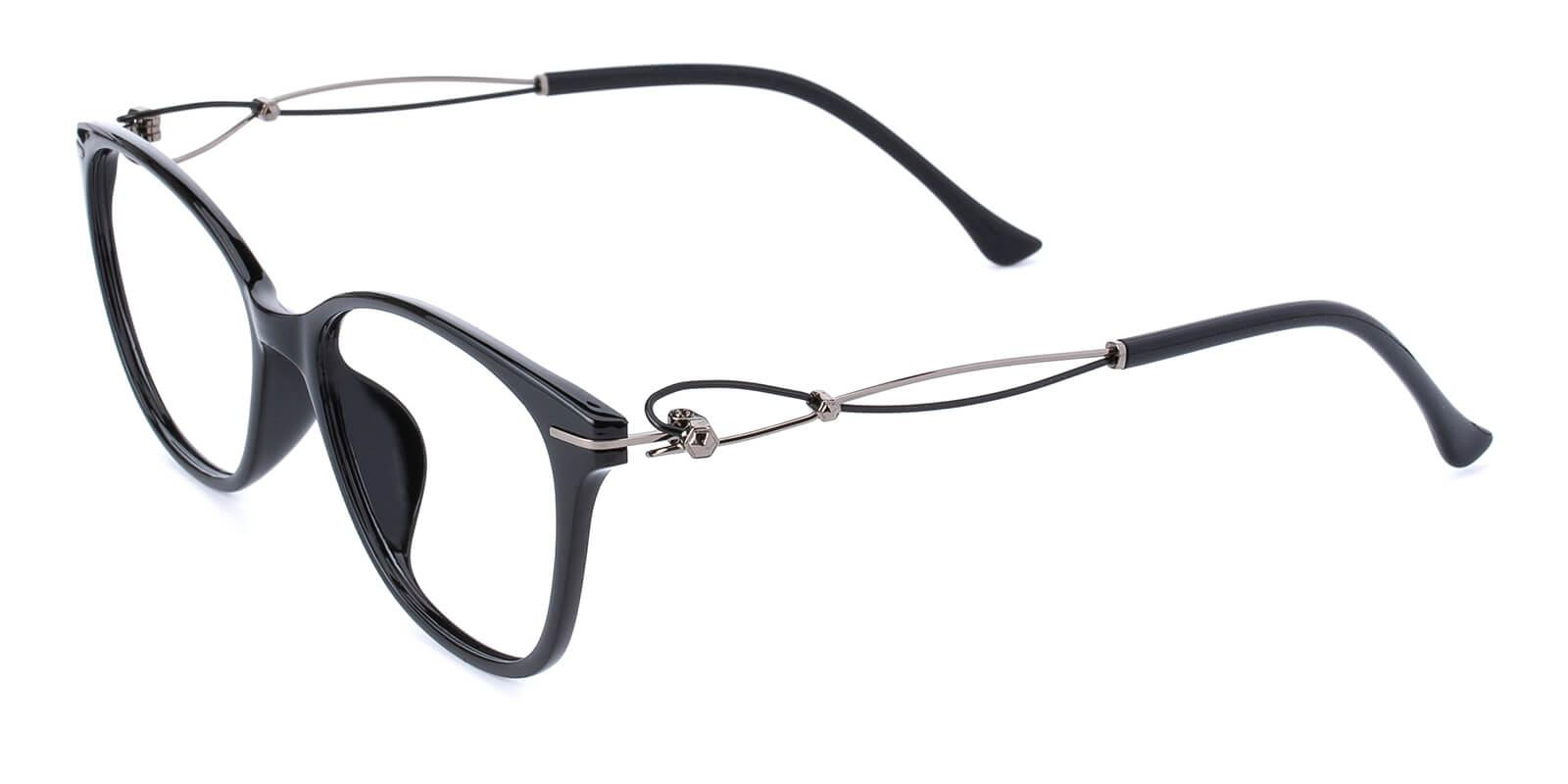 Godsilk-Black-Cat-Metal / TR-Eyeglasses-additional1